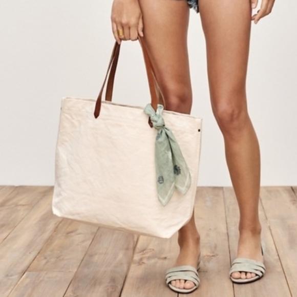Madewell Handbags - Madewell Canvas Transport Tote Bag